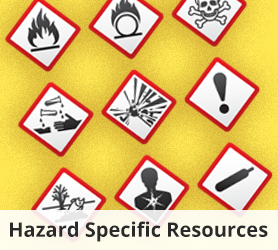 Hazard Specific Resources