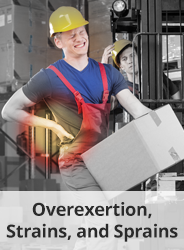 Overexertion, Strains, and Sprains