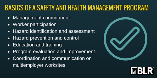 Osha Publishes Draft Revised Safety Program Guidelines